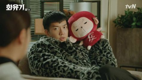 hwayugi peluche son oh gong