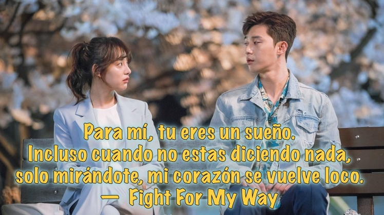 fight for my way f